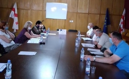 The first meeting of the working group in Terjola