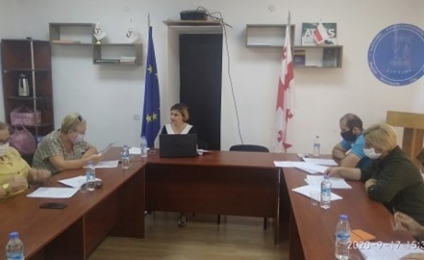 Meeting of the working group in Bagdati